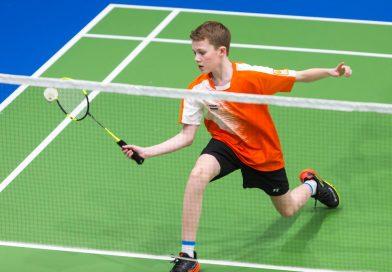 Badmintonner Joep Strooper gaat voor twee titels