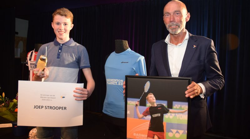 Joep Strooper wint Mariska Lips Award
